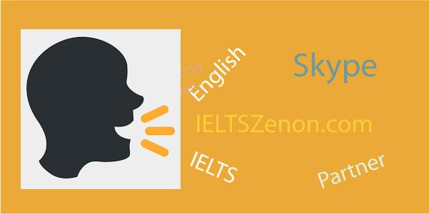 skype English conversation partner