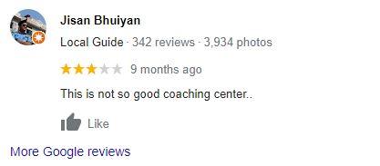 saifurs google reviews