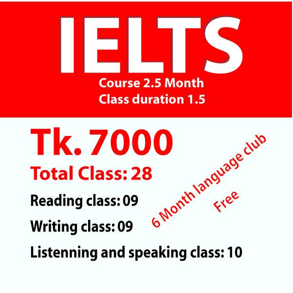 Saifurs IELTS course fee 2021